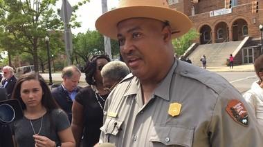 Reggie Tiller is serving as acting superintendent of the Birmingham Civil Rights National Monument and the Freedom Riders National Monument (Erin Edgemon/eedgemon@al.com)