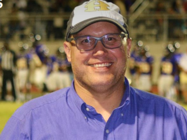 Hueytown High School Principal Joseph Garner