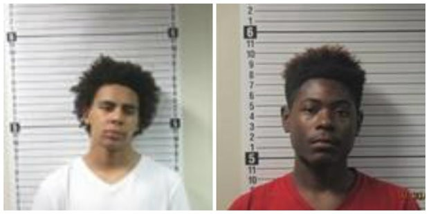 Andre Winn, left, and Ashanti Williams, right are awaiting extradition from Panama City to Florida in the May 23, 2017 shooting death of Kendarrius Martin. (Bay County Sheriff's Office)