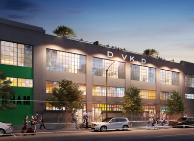 Rendering of Denham Building (Third & Urban)