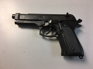 Hueytown police and school officials recovered this BB handgun from a high school student on Thursday, April 12, 2018.