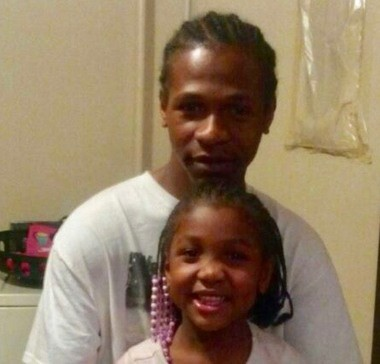 Lorenzo Oden was fatally shot on June 12, 2018. He is pictured here with his 9-year-old daughter, his only child.