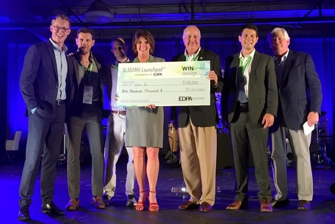 Birmingham startup APEX Pro receives $100,000 in funding as part of the EDPA's Launchpad program on Thursday, July 12, 2018.