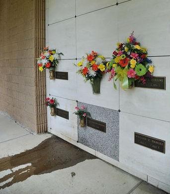 Leak at Cullman Memory Gardens mausoleum (Frank Couch/fcouch@al.com.)