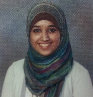 Hoda Muthana, when she was in the 11th grade at Hoover High School in Hoover, Ala. (Photo from Hoover High School 2012 yearbook)