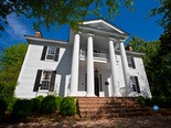Ashville's Bothwell-Embry House, built in 1835, will be auctioned later this month. (Albert Burney Group)