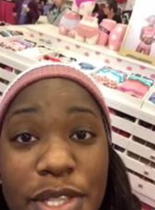 In a Facebook Live video, an Alabama woman claims she was told to leave Victoria's Secret in Oxford because another black woman was caught shoplifting.
