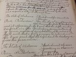 Etowah County court files record when prosecutors dropped assault and murder charges against Bunk Richardson in 1905.