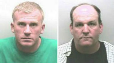 Gary Minor Jr., left, and Robert Gillaspie (Contributed by Marshall County Sheriff's Office)