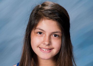 Selena Martinez in her sixth-grade photo. The Arab Junior High student died after suffering a seizure Halloween night. (Contributed by Greg Machen Photography)