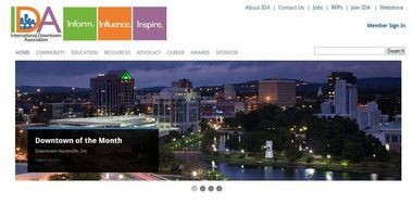 Throughout May, Huntsville will be featured on the International Downtown Association website home page.