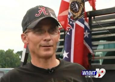 Phillip Sims claims Turner Industries in Decatur fired him for refusing to remove the Confederate battle flag from the back of his truck. (WHNT News 19)