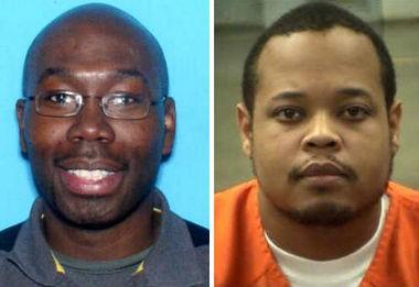 Antonio Moore, left, and Dimitri Jackson (Huntsville PD/Georgia Bureau of Investigation)