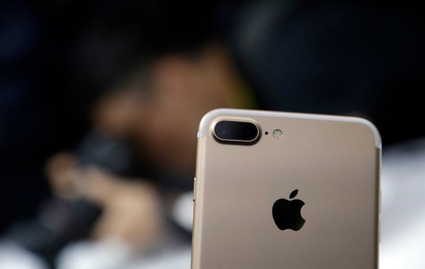 The Apple iPhone 7. (AP Photo/Marcio Jose Sanchez)