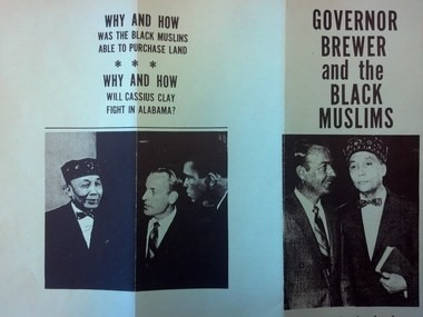 Doctored photos of Albert Brewer with Elijah Muhammad and Muhammad Ali were part of the 1970 governor's race, which has been called one of the dirtiest campaigns ever.