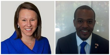 U.S. Rep. Martha Roby and Erick Wright