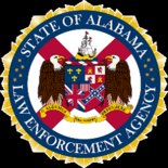 Alabama Law Enforcement Agency (ALEA) logo.