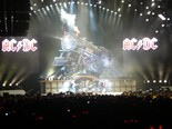 AC/DC's performance at the 2015 Grammy Awards ignited rumors that the Illuminati was in control of the award show. The band is seen here performing at the Roger's Centre in Toronto on Nov. 7, 2008. (Creative Commons via user Bitey