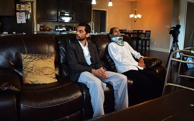 Chirag Patel and his father Sureshbhai Patel (Sarah Cole/scole@al.com)