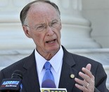 Gov. Robert Bentley ... hints at Medicaid expansion.