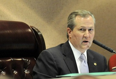 House Speaker Mike Hubbard, R-Auburn, voted in favor of changes to the state ethics law in 2010 under which he is now charged.