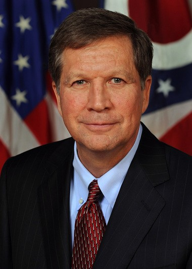Gov. John Kasich of Ohio
