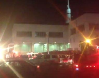 Emergency personnel are responding to a report of a fire at the U.S. Space and Rocket Center. (Contributed photo/Vincent Webb)