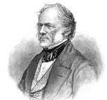 Charles Lyell influenced Darwin during a decades long friendship. Lyell died in 1875.