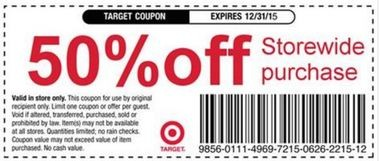 coupons for dvds at target