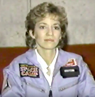 Pamela Grayson Bough, who was a finalist for the 1985 Teacher in Space program.
