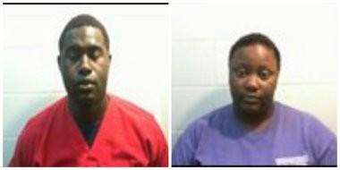 Zekiah Dunn and Diamond Brown (Ozark police)