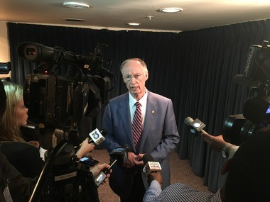Gov. Robert Bentley's thinks ALEA is headed in the right direction. Which is scary.