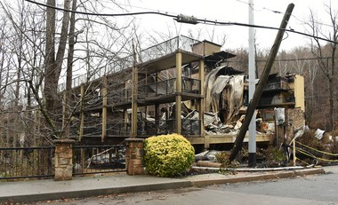 The Tree Tops Resort on Roaring Fork Road. Wildfires have devastated parts of Gatlinburg, Tennessee and areas of the Great Smoky Mountains National Park. Here are photos from one week after the fires ravaged the area. (Joe Songer | jsonger@al.com).