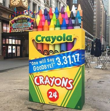 For the first time, Crayola is retiring one of the colors in its iconic 24-count box. (Contributed photo/Crayola)