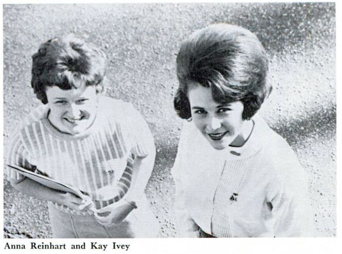 Kay Ivey was named to Who's Who during her senior year at Auburn University. She is pictured here in a Who's Who photo from the 1967 Glomerata, Auburn's yearbook. (Auburn Digital Libraries)
