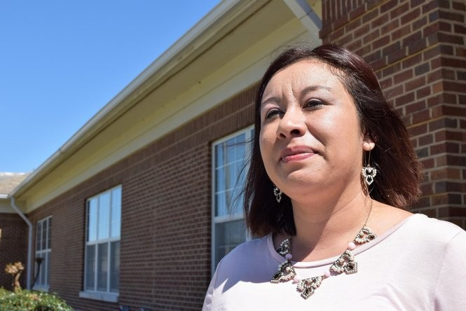 Maria Quintana is a secretary at Crossville High School, where she often serves as translator for the school's large population of immigrant students and their families. She knows nearly everyone who comes in the school doors. Quintana immigrated to the United States from Mexico when she was young, and is a graduate of Crossville High. (Anna Claire Vollers | avollers@AL.com)