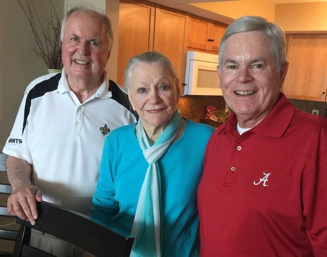 Recent photo of Shores with former Alabama Attorney General Bill Baxley and retired Jefferson County Circuit Judge Tom King (Special to AL.com)