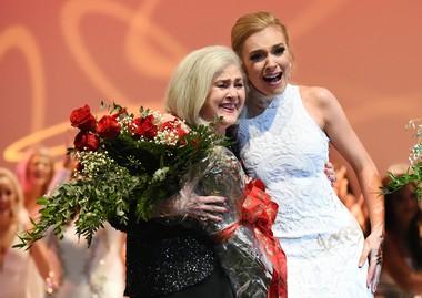 Nan Teninbaum with newly crowned Miss Alabama 2018, Callie Walker. (Joe Songer | jsonger@al.com)