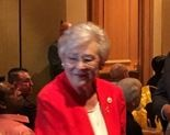 Alabama Gov. Kay Ivey at the Alabama Sheriff's Association meeting on Monday, July 30, 2018, in Orange Beach, Ala. (John Sharp/jsharp@al.com).