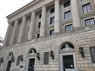 The federal courthouse in Montgomery. Arraignment is scheduled for this morning in a case about bribery allegations involving Alabama legislators. (Mike Cason/mcason@al.com).