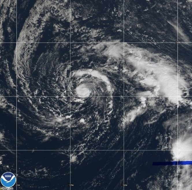 Tropical Storm Oscar could become a hurricane later today. (NOAA)