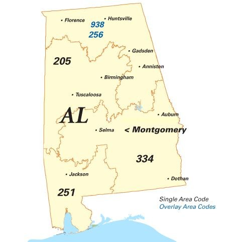 Why Alabama May Be Getting A New Area Code Al Com