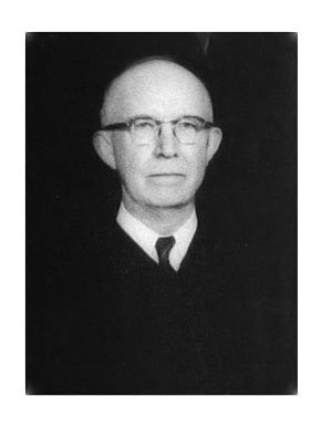 Richard Rives, District Judge Ginny Granade's grandfather, helped dismantle segregation as an appeals court judge in the 1950s and 1960s. (Photo courtesy Encyclopedia of Alabama)