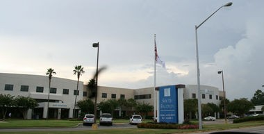 South Baldwin Regional Medical Center is shown on Monday, Aug. 18, 2014, in Foley, Ala. The hospital parent company was the victim of a (Marc D. Anderson/manderson@al.com)