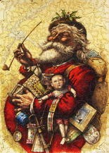 Thomas Nast's vision of Santa Claus came to life for the first time in 1860. (File Photo)