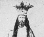 Joe Cain as Chief Slacabamorinico (Press-Register file)