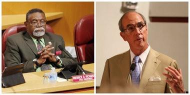 Mobile City Councilman Fred Richardson, Mobile Mayor Sandy Stimpson