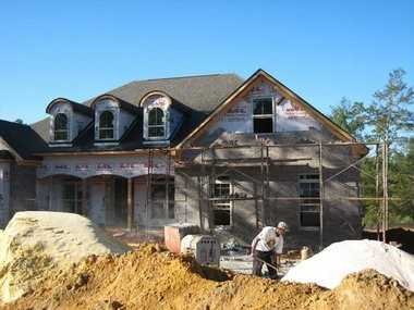 A house is under construction in Spanish Fort, Ala. Baldwin County remains one of the state's fastest-growing counties. (AL.com file photo)