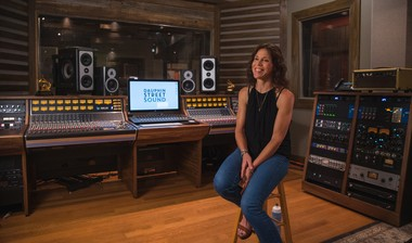 """Trina Shoemaker describes Dauphin Street Sound's main studio as """"an intimate, punchy room"""" with the potential to capture a unique coastal vibe. (Courtesy of Dauphin Street Sound)"""