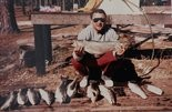 Here's one of Ted's customers. The back of the picture says they caught 18 speckled trout in 45 minutes and 11 of them were over six pounds. That's an astounding feat, for those who are not fishermen.